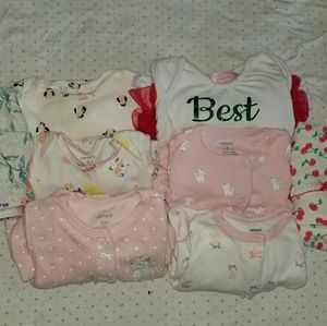 Baby girl bundle  3 to 6 months!!
